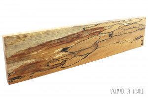 Barre aimantée artisanale Essences Creations 50cm en hêtre et résine - 6 places