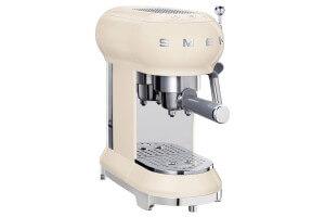 Machine à café expresso Smeg années 50 crème