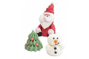 Décorations en sucre 3D Scrapcooking - Noël