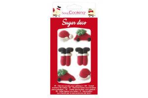 Décorations en sucre Scrapcooking - Père Noël