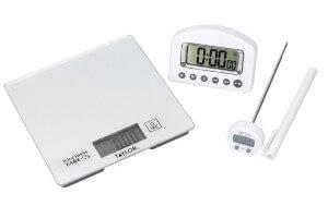 Kit mesure cuisine Taylor Pro balance + minuteur + thermomètre