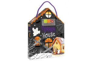 Coffret cadeau 5 découpoirs inox Scrapcooking Halloween Horror House + recette