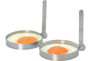 2 cercles à œufs en acier inoxydable Kitchen Craft