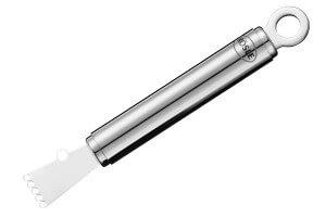 Zesteur canneleur Rösle en acier inoxydable 15,5cm