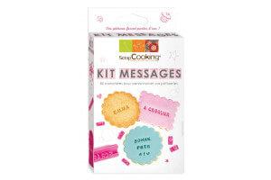 Kit message Scrapcooking 85 lettres, chiffres et symboles
