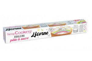 Rouleau pâte à sucre licorne Scrapcooking 110g