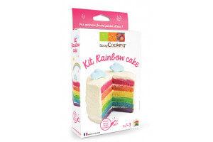 Kit gâteau arc-en-ciel Scrapcooking