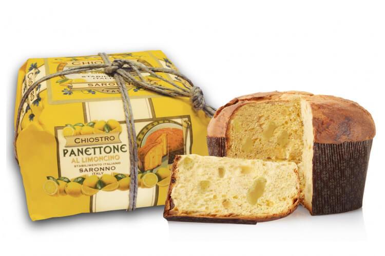 Panettone Chiostro Di Saronno limoncello 750g - Fabrication italienne artisanale