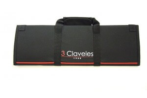 Mallette pour 10 couteaux + poches accessoires 3 Claveles
