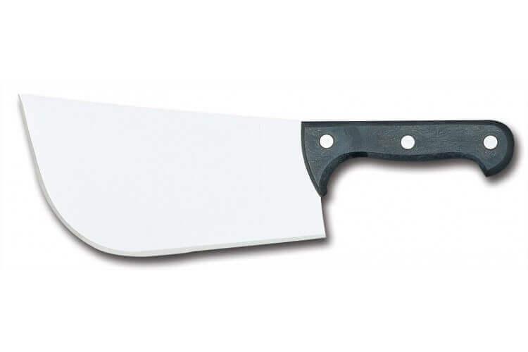 Feuille Suisse de boucher Fischer lame acier inox 23cm