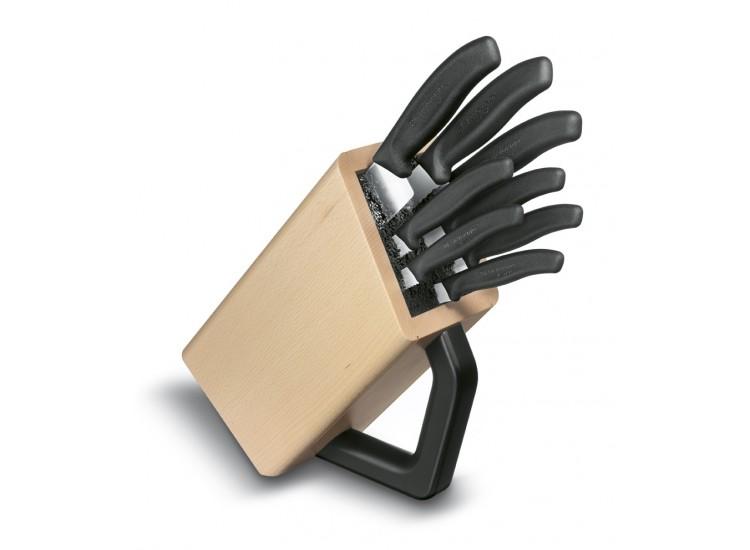 Bloc 8 couteaux de cuisine SwissClassic Victorinox 6.7173.8