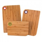 Set de 3 planches à découper Totally Bamboo - garantie 5 ans