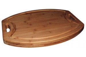 Billot de cuisine en bambou 54x44cm - Totally Bamboo - garantie 5 ans