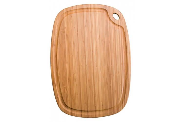 Planche à découper en bambou Greenlite 52x37cm avec rigole - garantie 5 ans
