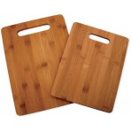 Set de 2 planches à découper en bambou Totally Bamboo - garantie 5 ans