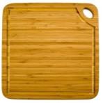 Planche carrée Greenlite avec rigole Totally bamboo 27cm - garantie 5 ans