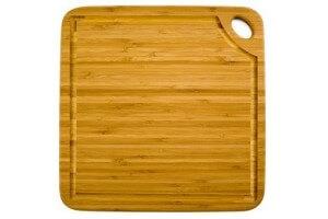 Planche carrée Totally bamboo Greenlite + rigole 27cm - Garantie 5 ans