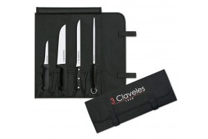 Trousse de couteaux spéciale découpe du jambon 3 Claveles