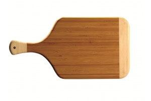 Planche à découper Bistrot bicolore Totally Bamboo - 38x20cm - garantie 5 ans