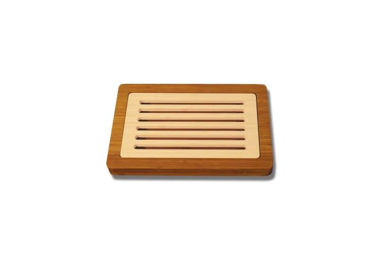 Planche à pain avec recupérateur de miettes - 24x37cm - garantie 5 ans