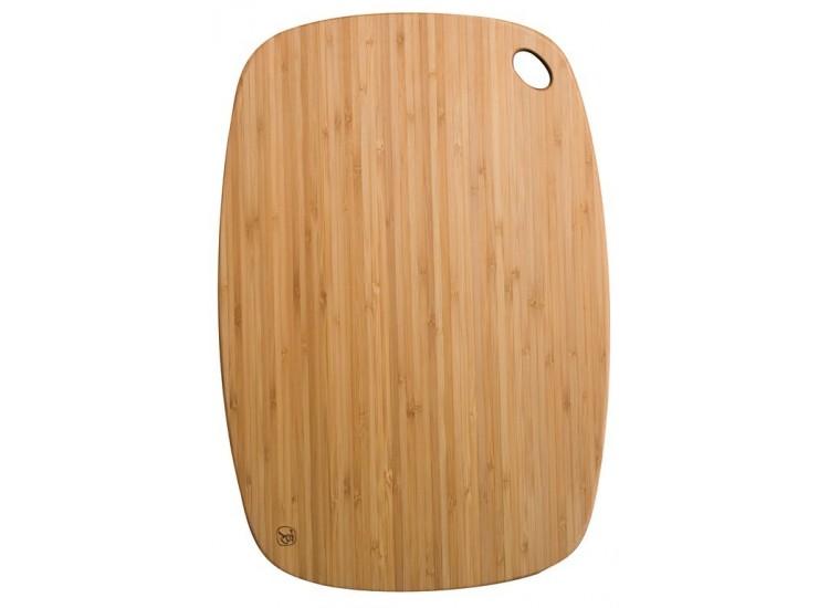 Planche a découper ultralégère totally bamboo - 34x23cm - garantie 5 ans