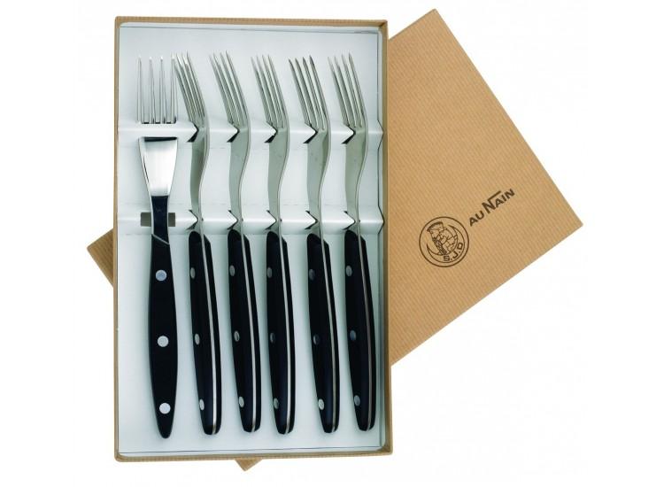 Coffret 6 fourchettes de table Au Nain Brasserie