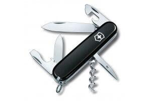 Couteau suisse Victorinox Spartan noir 91mm 12 fonctions