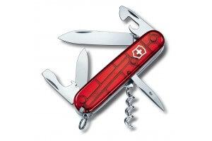 Couteau suisse Victorinox Spartan rouge translucide 91mm 12 fonctions