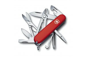 Couteau suisse Victorinox Tinker Deluxe rouge 91mm 18 fonctions