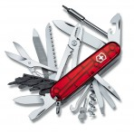 Couteau suisse Victorinox 23 pieces CYBER TOOL 41 manche 91mm rouge translucide