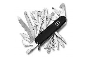 Couteau suisse Victorinox Swisschamp noir 91mm 33 fonctions
