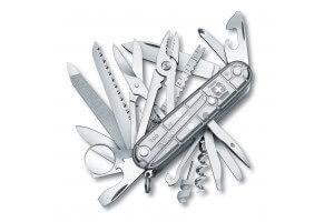 Couteau suisse Victorinox Swisschamp Silvertech 91mm 33 fonctions