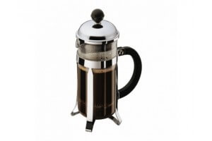 Cafetière Bodum Chambord à piston avec filtre inox - 0.35L 3 tasses