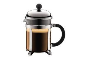 Cafetière Bodum Chambord à piston avec filtre inox - 0.50 L 4 tasses