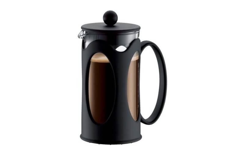 Cafetière Bodum Kenya à piston avec filtre inox - 0.35L 3 tasses