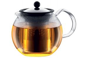 Théière Bodum Assam à piston avec filtre inox - 1L 8 tasses