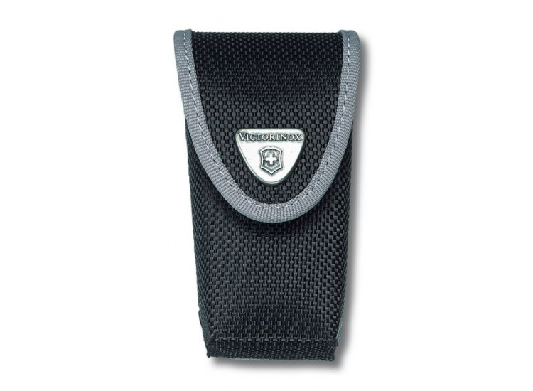 Etui nylon noir Victorinox pour couteaux suisses 9,1cm - 6 à 14 pièces