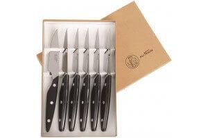 Coffret 6 couteaux de table Au Nain Brasserie