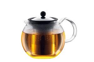 Théière Bodum Assam à piston avec filtre inox - 1.5L 12 tasses
