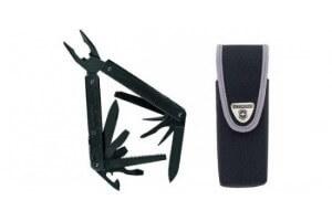 Pince Swisstool Victorinox anti-reflets 12 pièces lame ondulée + étui nylon
