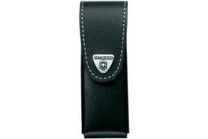 Etui cuir noir Victorinox pour couteaux suisses 11,1cm - 4 à 10 pièces