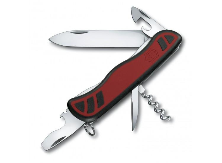 Couteau suisse Victorinox Nomade rouge et noir 111mm 9 fonctions