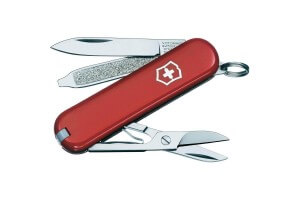 Couteau suisse Victorinox Classic SD rouge 58mm 7 fonctions