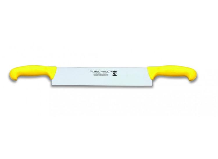 Couteau à fromage 2 manches Martinez & Gascon jaune - 32cm