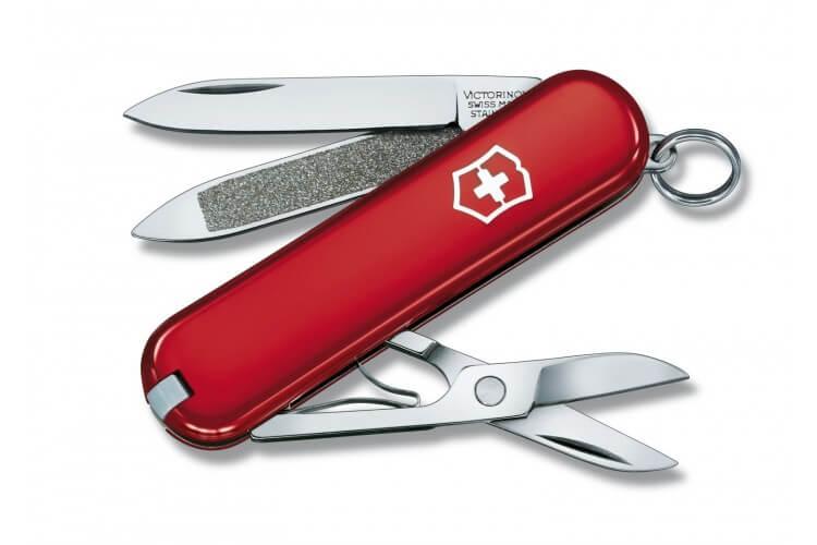 Couteau suisse Victorinox 5 pièces Classic 2 rouge