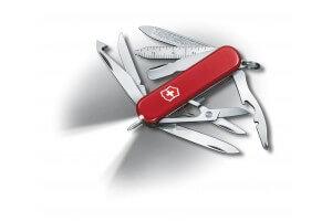 Couteau suisse Victorinox Midnite MiniChamp rouge 58mm 17 fonctions