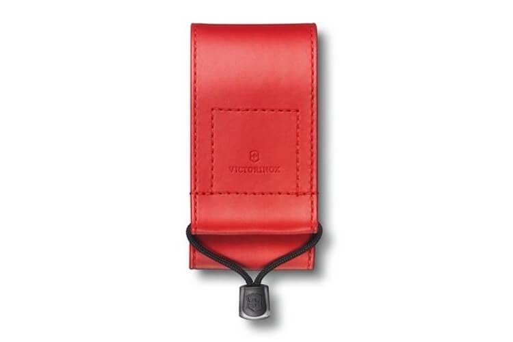 Etui toile rouge Victorinox pour couteaux suisses 11,1cm - 4 à 10 pièces