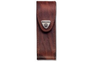 Etui cuir marron Victorinox pour couteaux suisses 11,1cm - A partir de 11 pièces