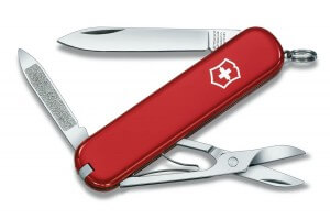 Couteau suisse Victorinox Ambassador rouge 74mm 7 fonctions