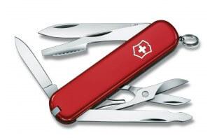 Couteau suisse Victorinox 7 pièces Executive rouge